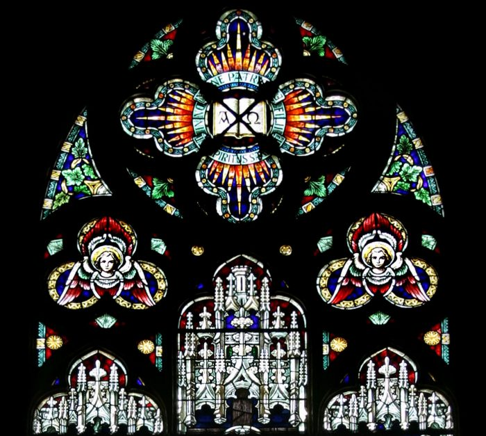 Stained Glass Windows of St. Mary